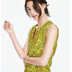 Banana Republic Paisley Print Dress